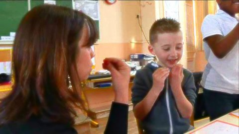 Apprentissage de langue des signes / © France 3 Normandie