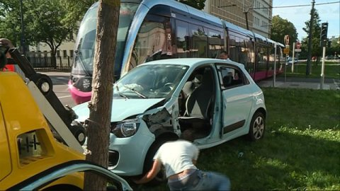 Un accident perturbe la circulation des tramways à Dijon