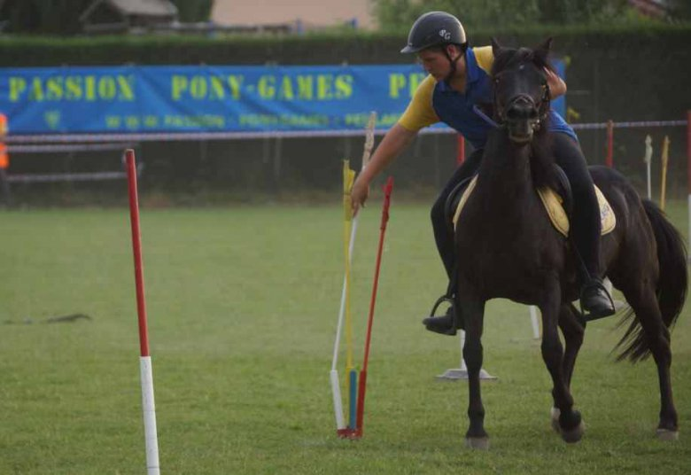 Une compétition de pony games / © association Passion Pony Games