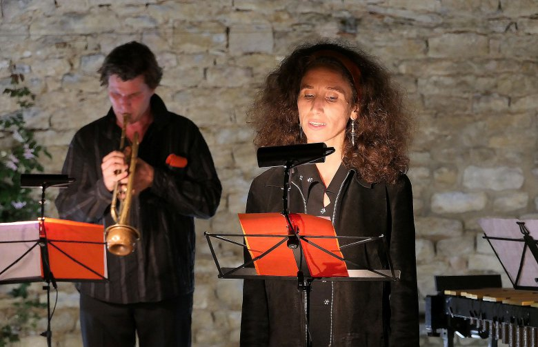 La chanteuse Christine Bertocchi / © NZ / France 3 Bourgogne