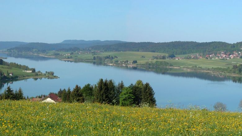 Le lac de Saint-Point / © Office du tourisme de Malbuisson