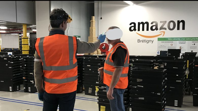 Amazon prolonge la fermeture des sites français — Coronavirus