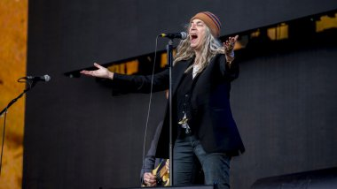 Patti Smith au British Summer Time à Hyde Park, le 1 juillet 2016. 