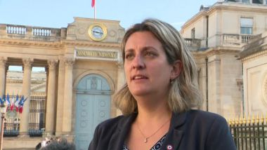 Perrine Goulet, députée LREM de la 1re circonscription de la Nièvre