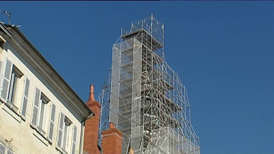 Nevers : le beffroi bénéficie d'un vaste chantier de restauration