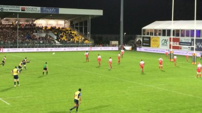 L'Uson Nevers Rugby a fait chuter le leader Grenoble