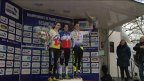 Juliette Labous vice-championne de France junior 2016 de cyclo-cross à Besançon