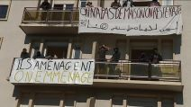 migrants Dijon occupation immeuble de l'avenue de Stalingrad