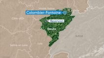 carte colombier fontaine (doubs)