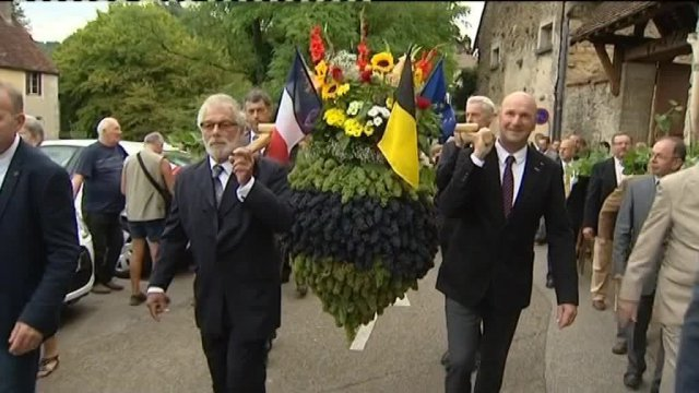 Arbois : la tradition du biou