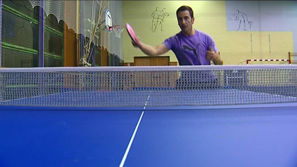 Handisport : Christophe Panicali, champion de France de tennis de table