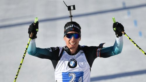 Biathlon, Antholz : Quentin Fillon Maillet vice-champion du monde de la mass-start