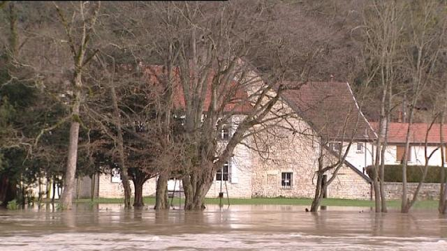 Avanne Aveney, un village souvent inondé