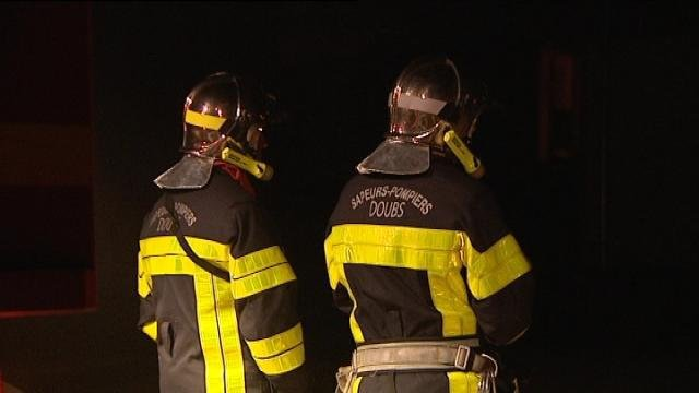 Les pompiers du Doubs en intervention