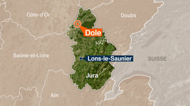 Dole : encore un accident grave sur la RD 673