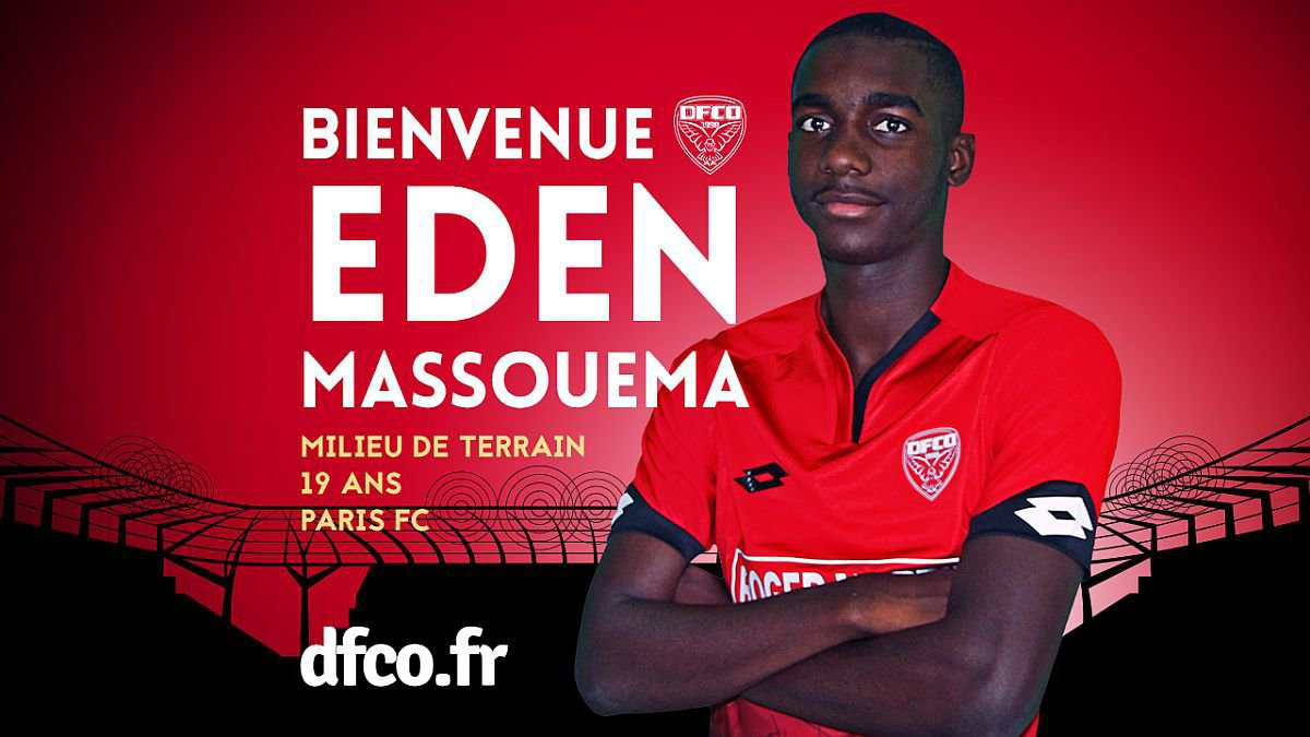 Foot - Mercato : Eden Massouema (Paris FC) officiellement dijonnais