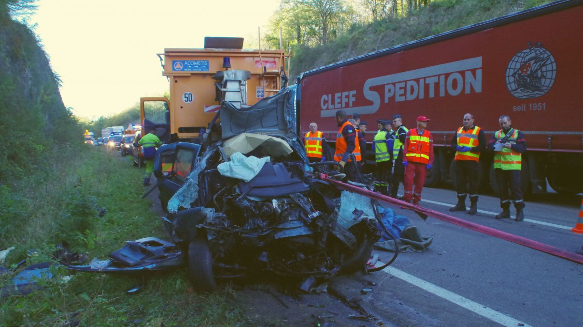 Mouchard : accident mortel sur la RD 1083
