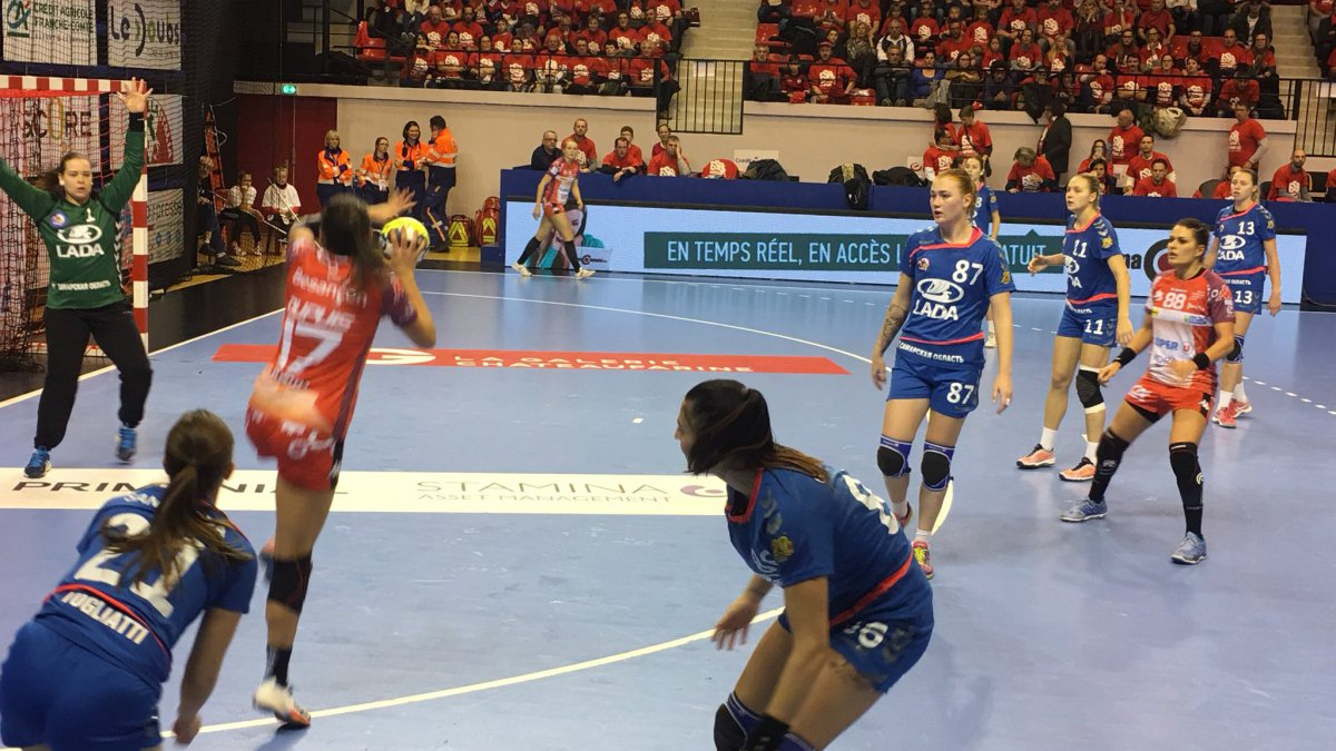Battu par le Lada Togliatti, l'ESBF ne poursuit pas sa route en Coupe d'Europe EHF