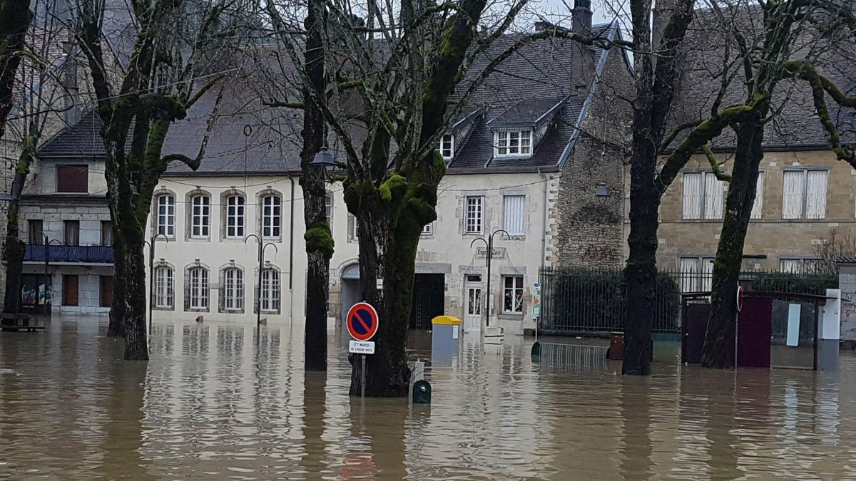 Direct inondations edition sp ciale du 12 13 en direct d - Point p besancon ...