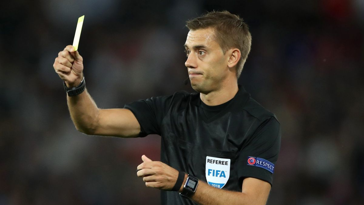 L'arbitre Clément Turpin, le 11 septembre 2018. / © PRESS ASSOCIATION IMAGES/MAXPPP