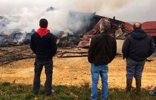 VIDEO. Doubs : six incendies criminels ravagent le plateau de Saône