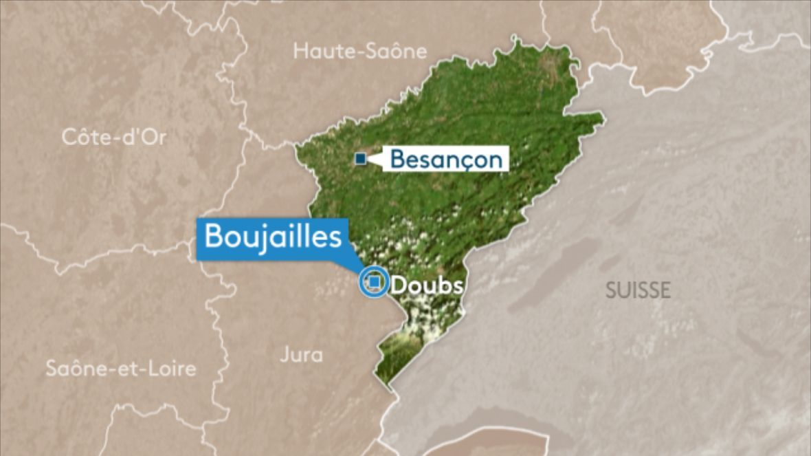 Boujailles (25) : accident mortel au passage à niveau
