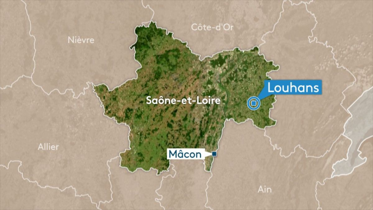 Louhans : deux morts dans un terrible accident