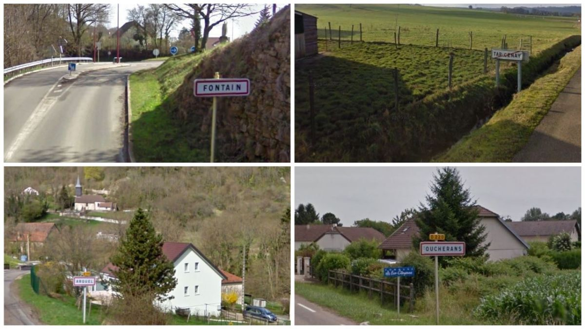 Six communes du Doubs fusionnent à compter de 2019. / © Google Maps