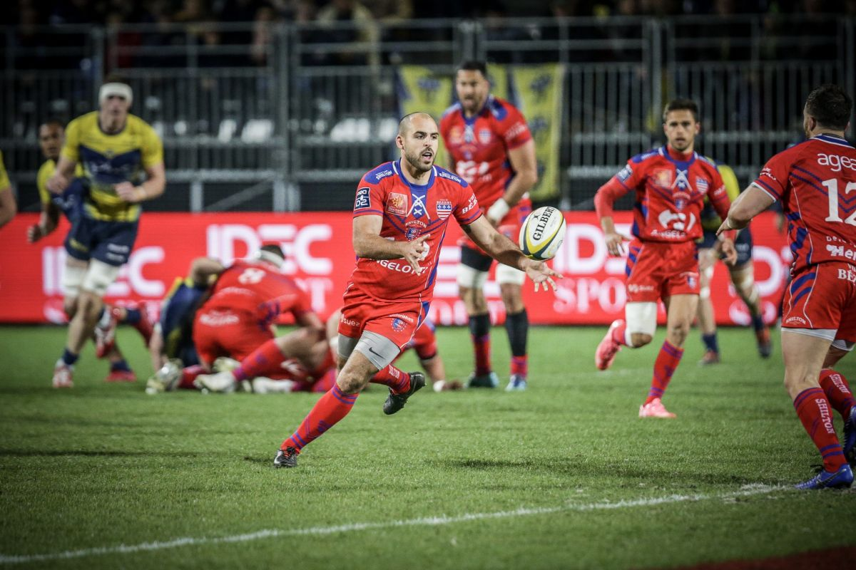 Match USON- AS Béziers Hérault Pro D2 le 11 avril 2019 / © Fabien Bartoli/PHOTOPQR/JOURNAL DU CENTRE/MAXPPP