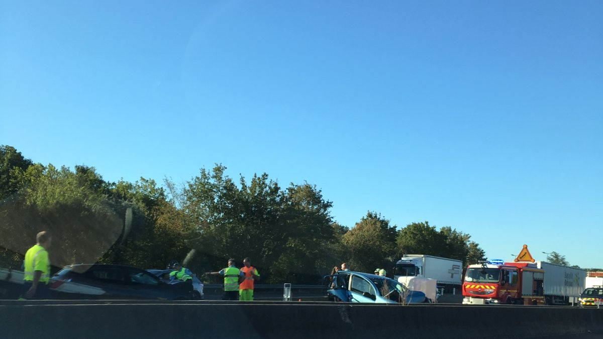 Autoroute A 6 : un accident cause un important bouchon