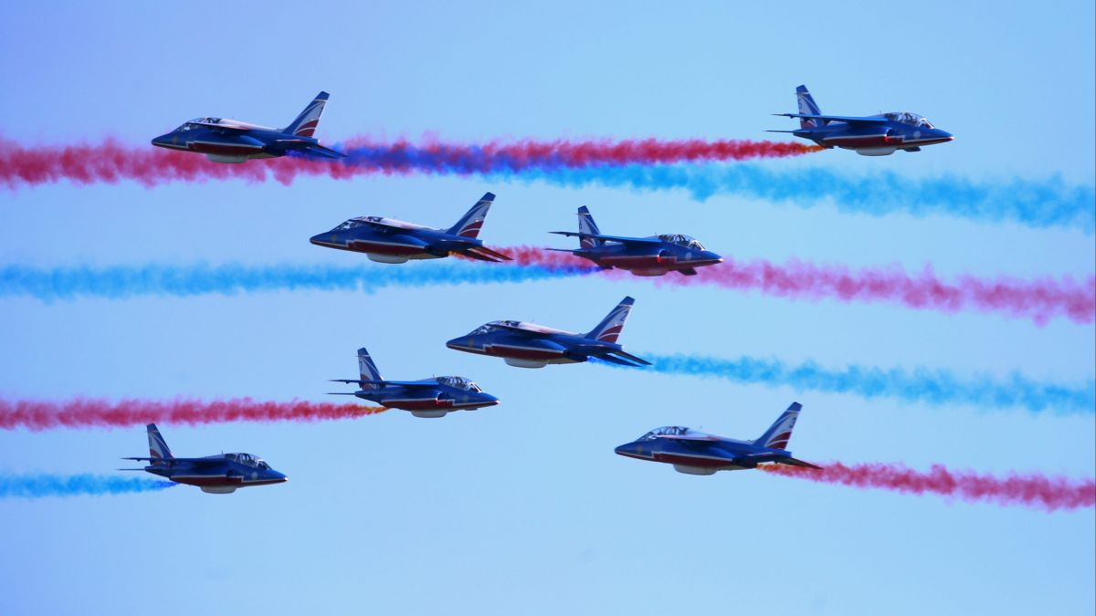 PHOTOS. Les plus images du meeting de la Patrouille de France à Montbéliard