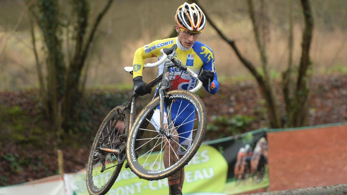 Cyclo-Cross : Clément Venturini champion de France 2020, Fabien Doubey 3e à Flamanville