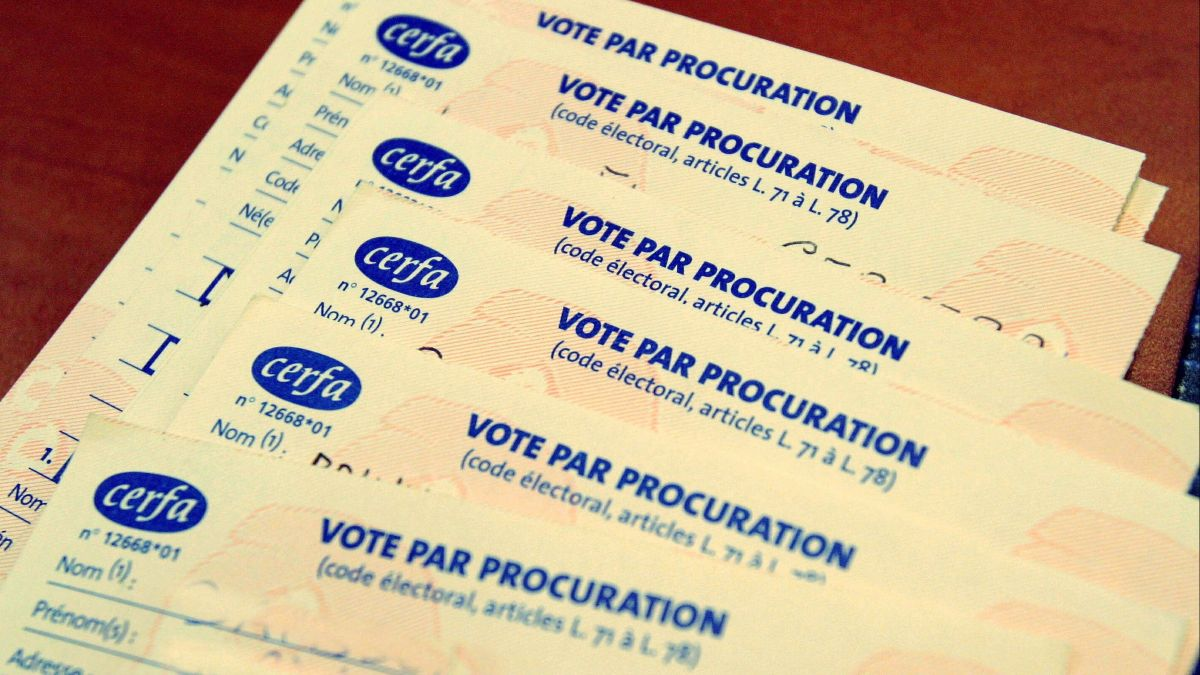 Elections municipales 2020 : comment voter par procuration ?