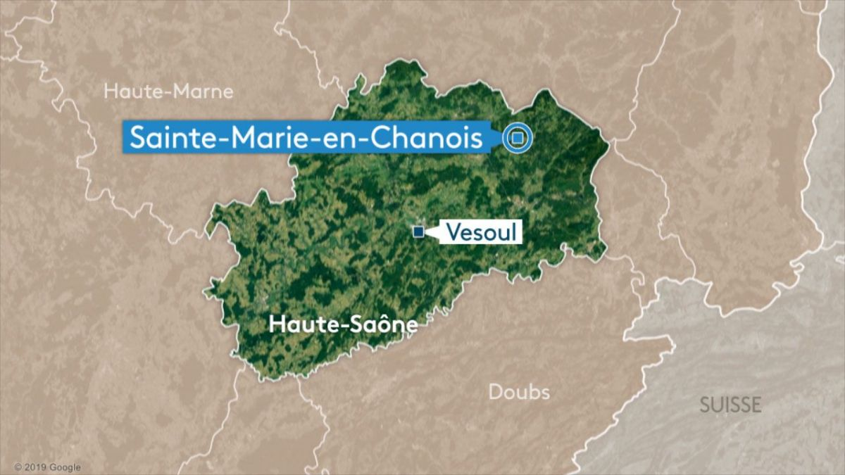 Sainte-Marie en Chanois (70) : accident mortel de parapente