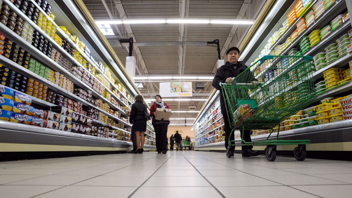 Un supermarché en Franche-Comté (photo d'illustration) / © SEBASTIEN BOZON / AFP