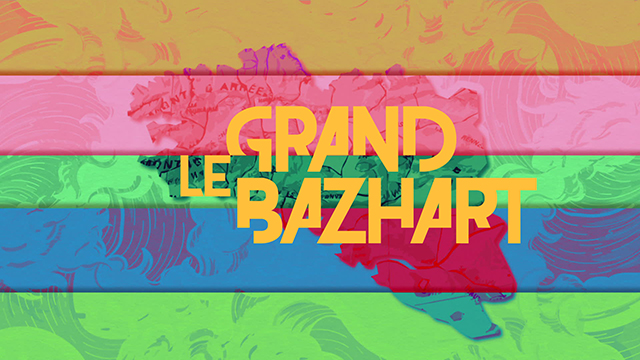 Logo de l'émission Le grand BaZH.art