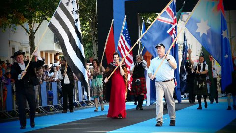 Festival interceltique : revivez la grande parade commentée en breton