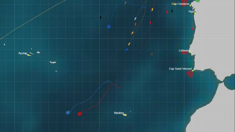 Mapping from 1 to 7 November / © Route du Rhum
