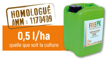 FREE PK : la solution anti engrais et pesticide / © GaÏago