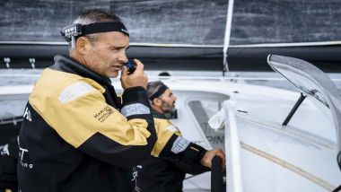 Yann Guichard lors d'un entraînement en octobre 2017 / © © Chris Schmid/Spindrift racing