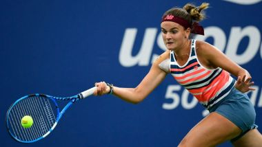Clara Burel s'est incliné en deux manches lors de la finale de l'US Open juniors / © AFP - Getty Images North America - Sarah Stier