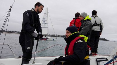 Saint-Malo : un ticket pour la course au large