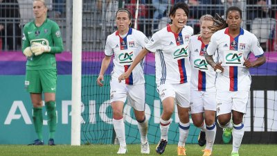 Coupe de France dames à Vannes : Lyon l'emporte face au Paris SG