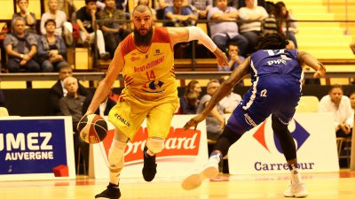 Pro B de Basket : Vichy-Clermont battu d'un point face par Quimper 79 à 80