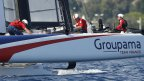 America's Cup World Series – Groupama finit au pied du podium