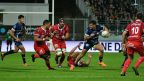 rugby : Vannes - Aurillac 4/10/2019 Maxppp