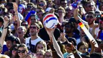 Supporters équipe de France -AFP