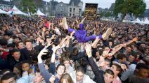 Le public du festival Art Rock - Photo MaxPPP
