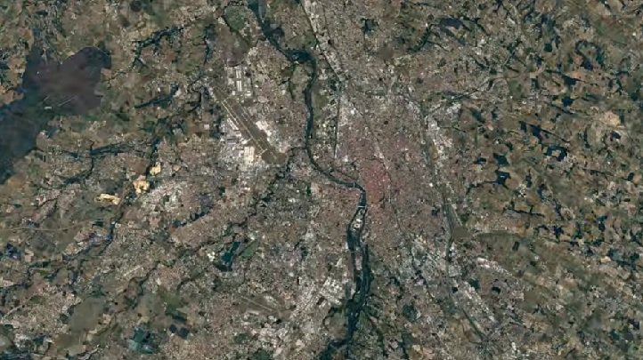 [VIDEO] Le timelapse d'images satellites qui montre la transformation de Toulouse en 30 ans