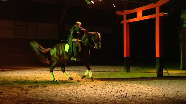 La Chapelle-Gaceline (56) : le cheval au coeur du Japon traditionnel